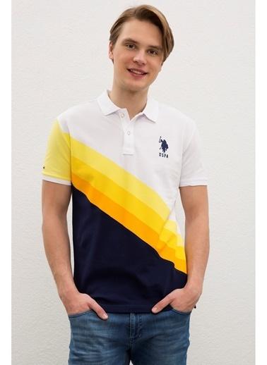 U.S. Polo Assn. U.S. Polo Assn. Slim Fit Erkek T-Shirt Sarı